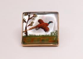 Essex crystal brooch