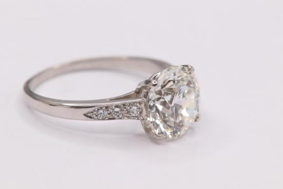 3.03ct Solitaire Diamond Ring