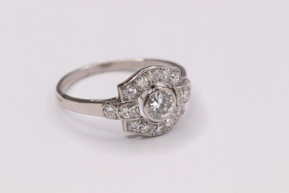 Original Art Deco Ring