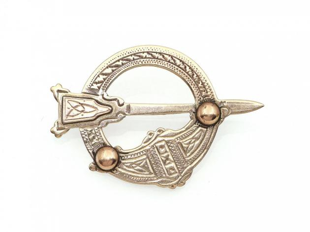 1968 Irish Tara brooch in 9kt yellow gold